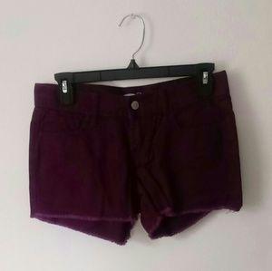 Purple cutoffs